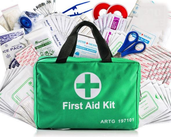 210 Piece Emergency First Aid Kit