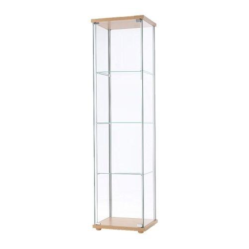 Tallboy Glass Display Cabinet- Beech