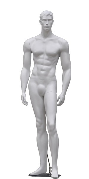 Male Display Mannequin - White