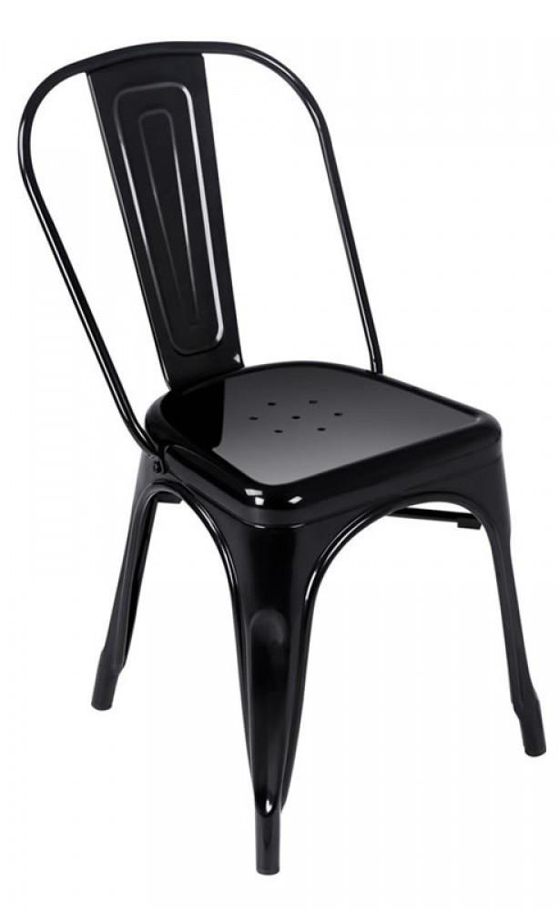 Expo Tolix Chair - Gloss Black