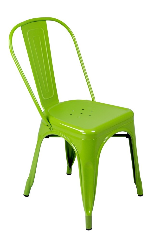 Expo Tolix Chair - Gloss Green