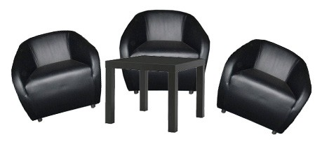Euro Classic Lounge Package - Black