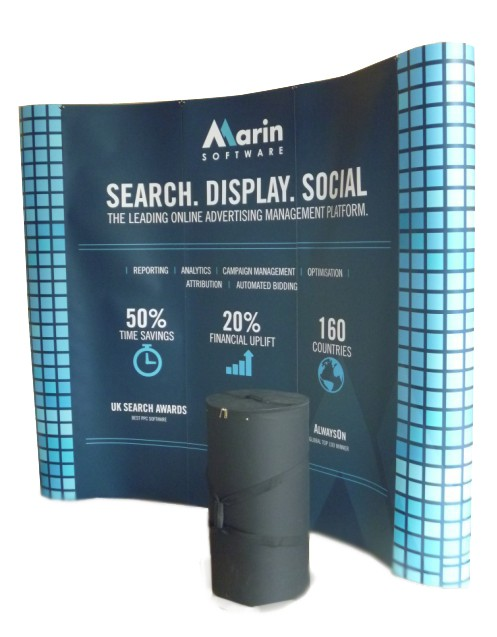 3m pop-up system display