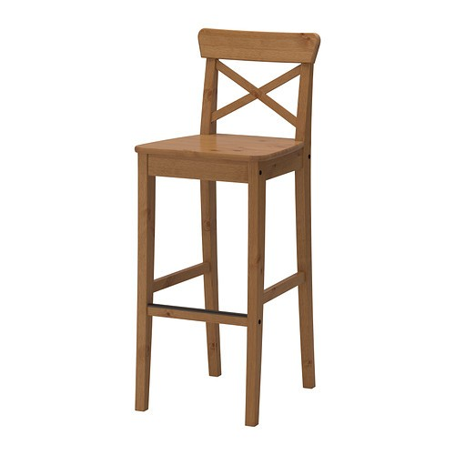 Bronte High Back Stool - Beech