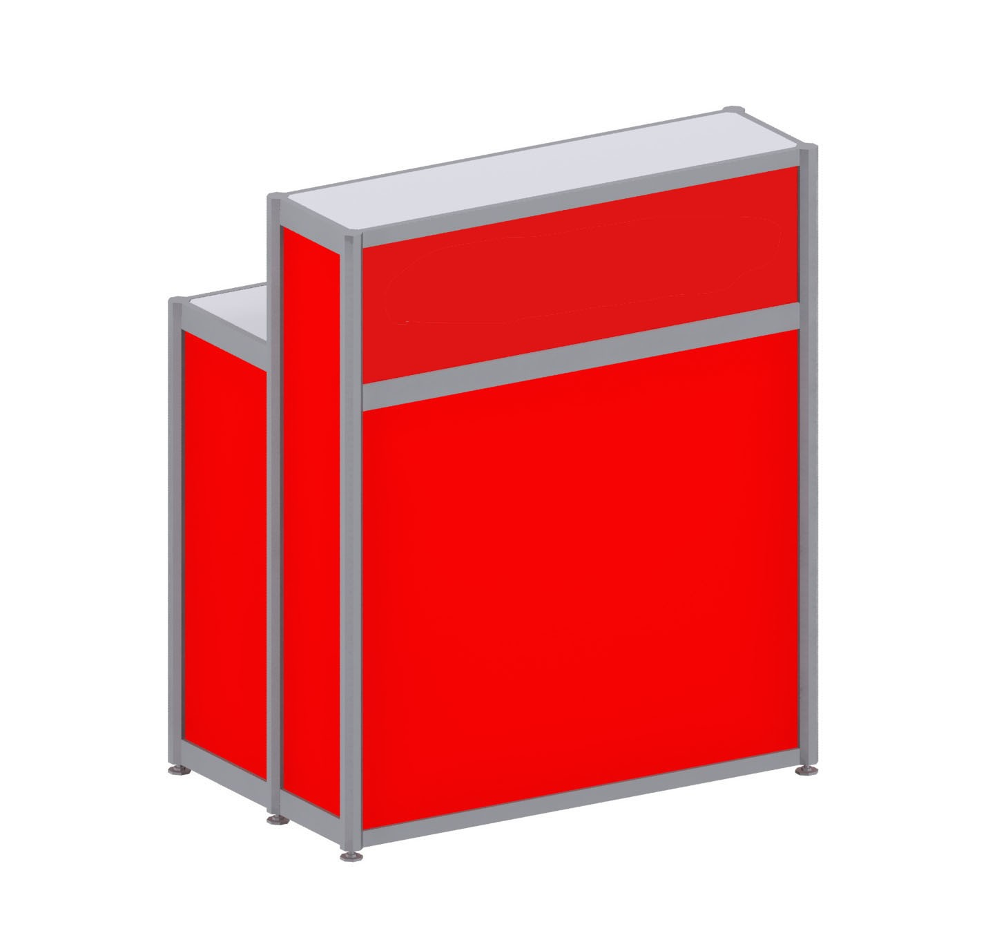 Registration Counter - Red