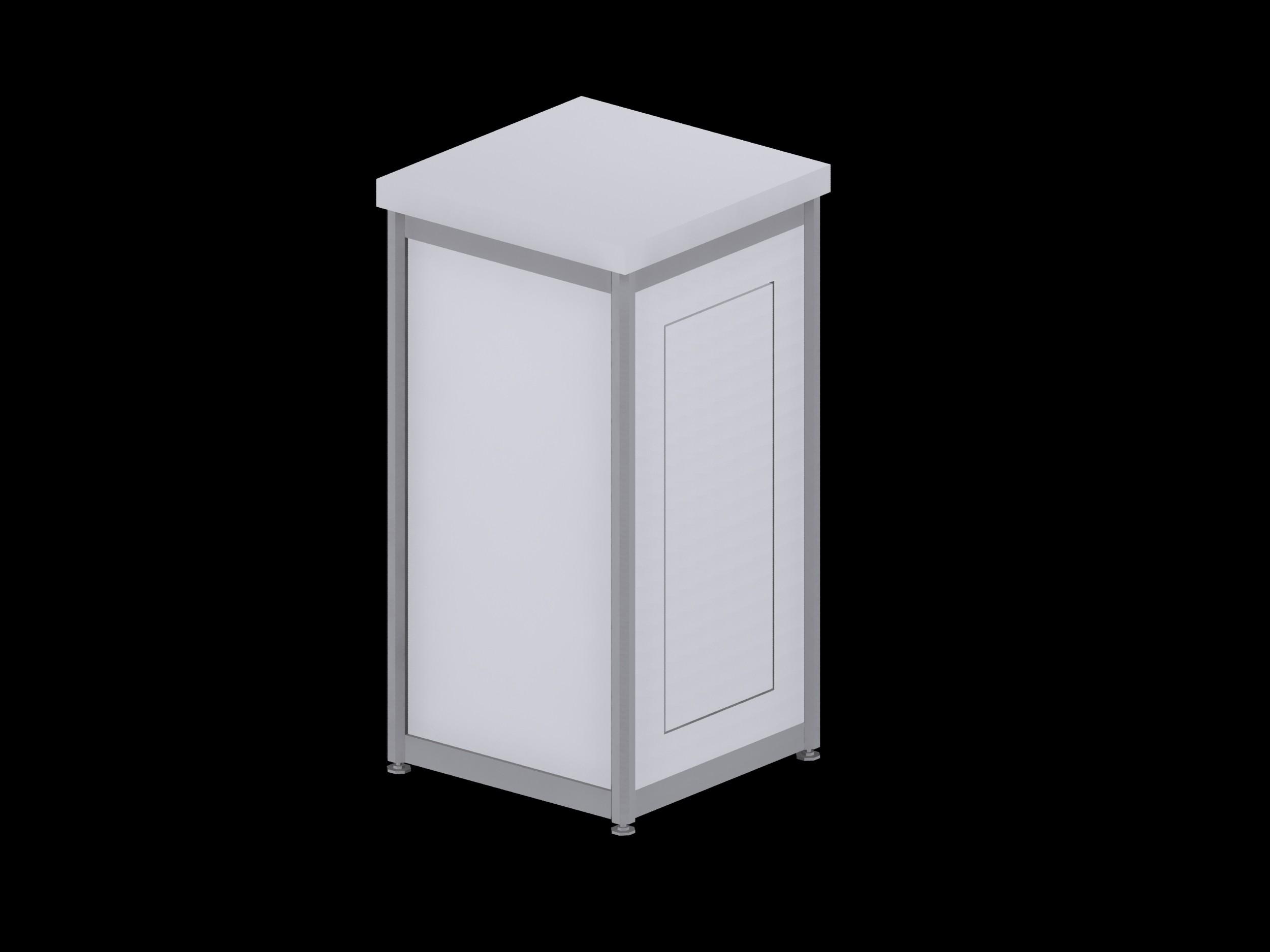 Deluxe Expo Display Module **Lockable** - White
