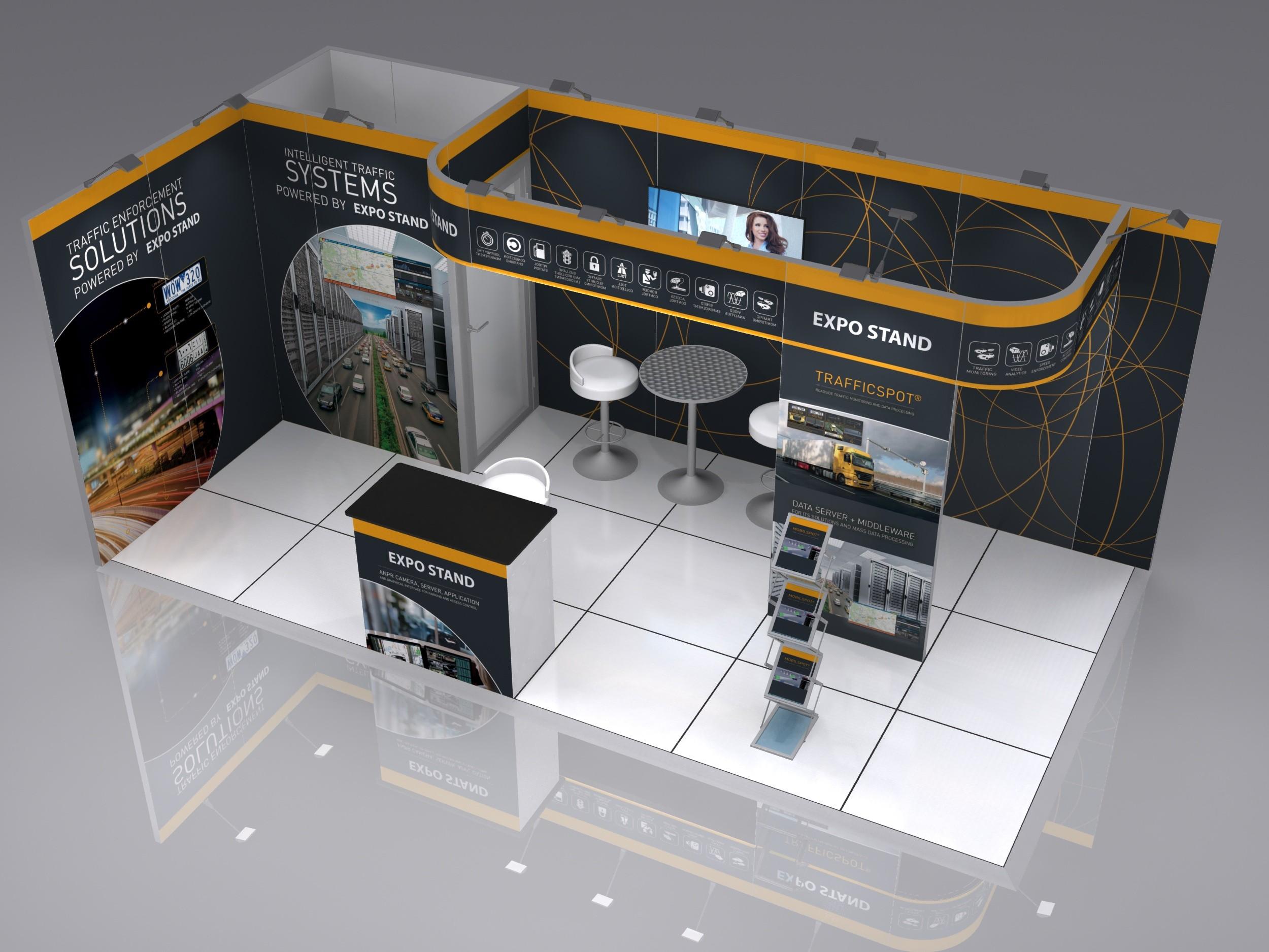 AllyFrame 6x3m corner stand