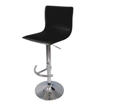 Euro Gas Lift High Bar Stool Chair   Black   Chairs U0026 Stools   Furniture  Hire