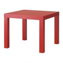 Bronte Square Coffee Table - Red