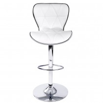 Euro PLUS Gas Lift Bar Stools - White