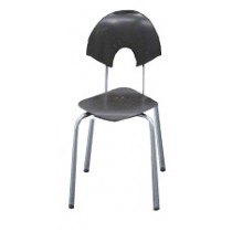 Fineline Diamond Chair -  Dark Brown
