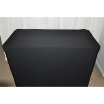 Black Trestle Table Cover