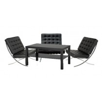 Luxury Barcelona Lounge Package - Black