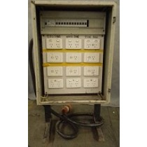 3 phase power distribution board  \ switchboard