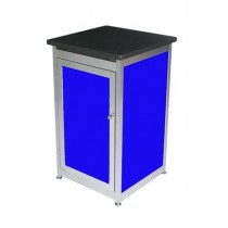 Lockable Expo Display Module - Blue