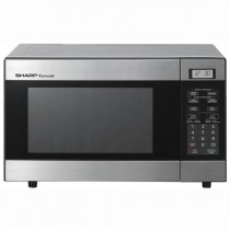 Sharp 800W Stainless Steel Microwave