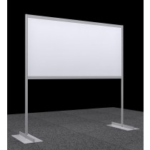 Display panel / Poster board - horizontal