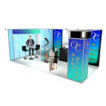 Optima 6x3 open space stand