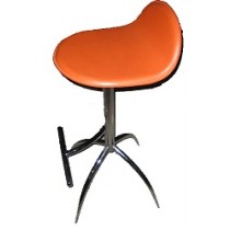Expo Plus Bar stool - Orange