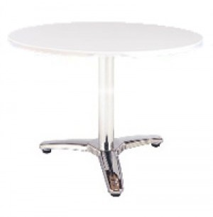 Bronte Table - Round Shaped - White