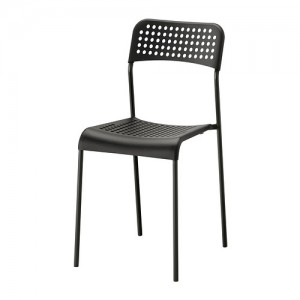Fineline Chair - Black