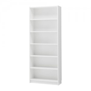 Euro plus bookshelf \ display shelving - White