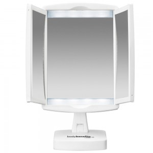 1x & 3x Magnification Make-up desk Mirror