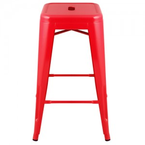 Expo Tolix High Stool - Red
