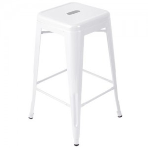 Expo Tolix High Stool - White