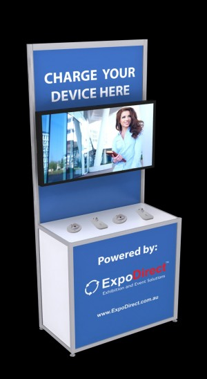 Large Mobile Phone Charging Station Kiosk