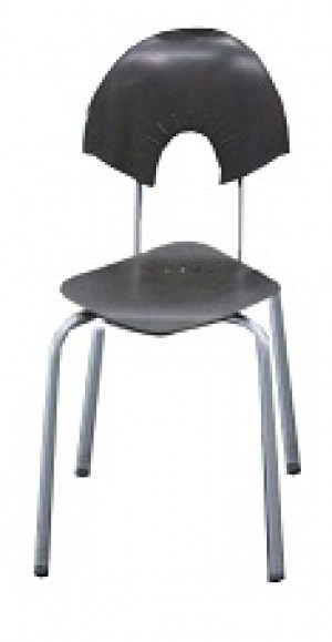 Fineline Diamond Chair -  Dark Brown