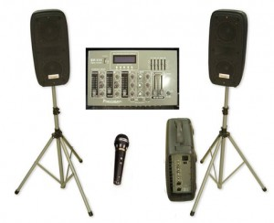Precision Sound System (for up to 6x3 stand)
