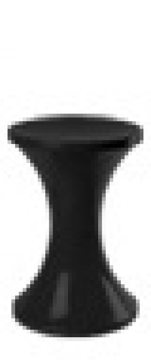 Retro Arcade stool - Black