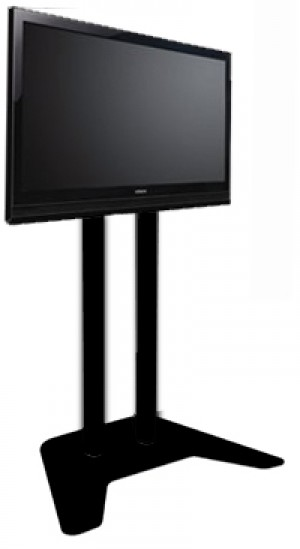 Plasma / LCD / TV Floor Stand - Black