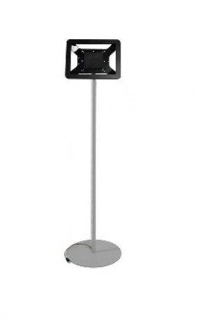 iPad Floor Stand - Silver / Black