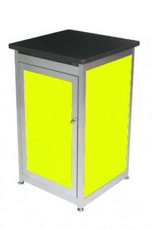 Lockable Expo Display Module - Yellow