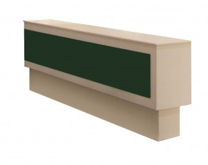 The Custom Made Range - Long rectangular counter with lockable storage