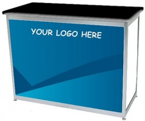 Digital Print Panel For Octanorm Rectangular lockable counter