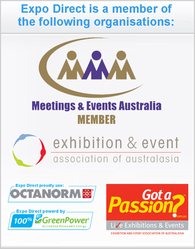 ExpoDirect - Australia's leading exhibition hire & event services company is a Gold member of EEAA & a member of MEA