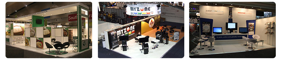 Custom Display, Exhibition Stands Design, Build and Hire