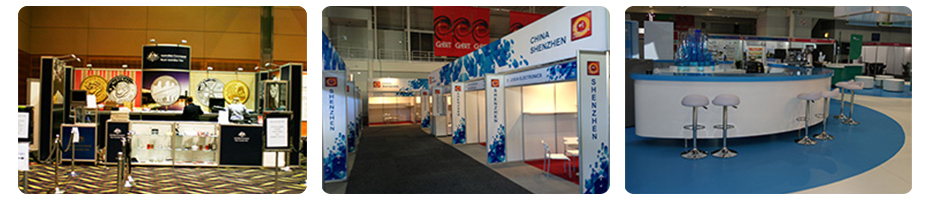 Exhibition Stand Packages and upgrade