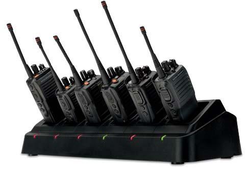 Vertex Standard VX-410 Two Way Radios - 6 Pack