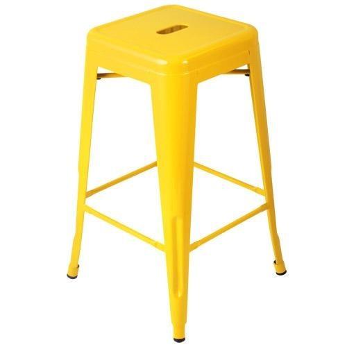 Expo Tolix High Stool - Yellow