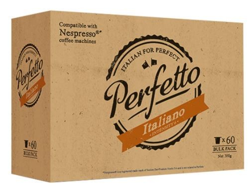 Perfetto Italiano Coffee Capsules - ideal for our Automatic coffee machine - 60 Pack