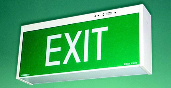 Emergency Exit sign \ light