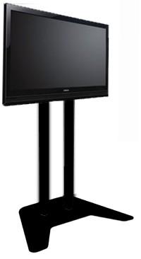 Plasma / LCD / TV Floor Stand - Black