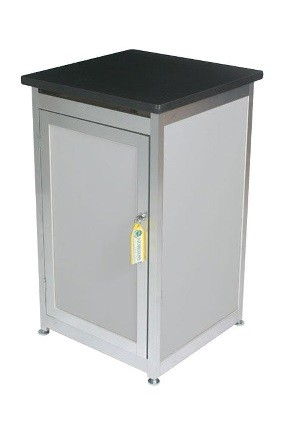 Lockable Expo Display Module - Silver (Gray)