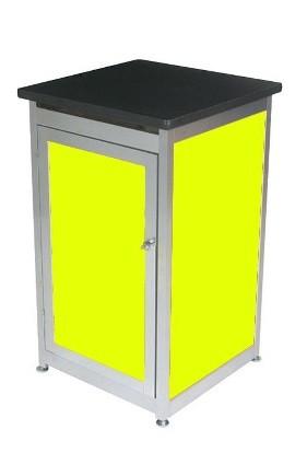 Lockable Expo Display Module - Yellow