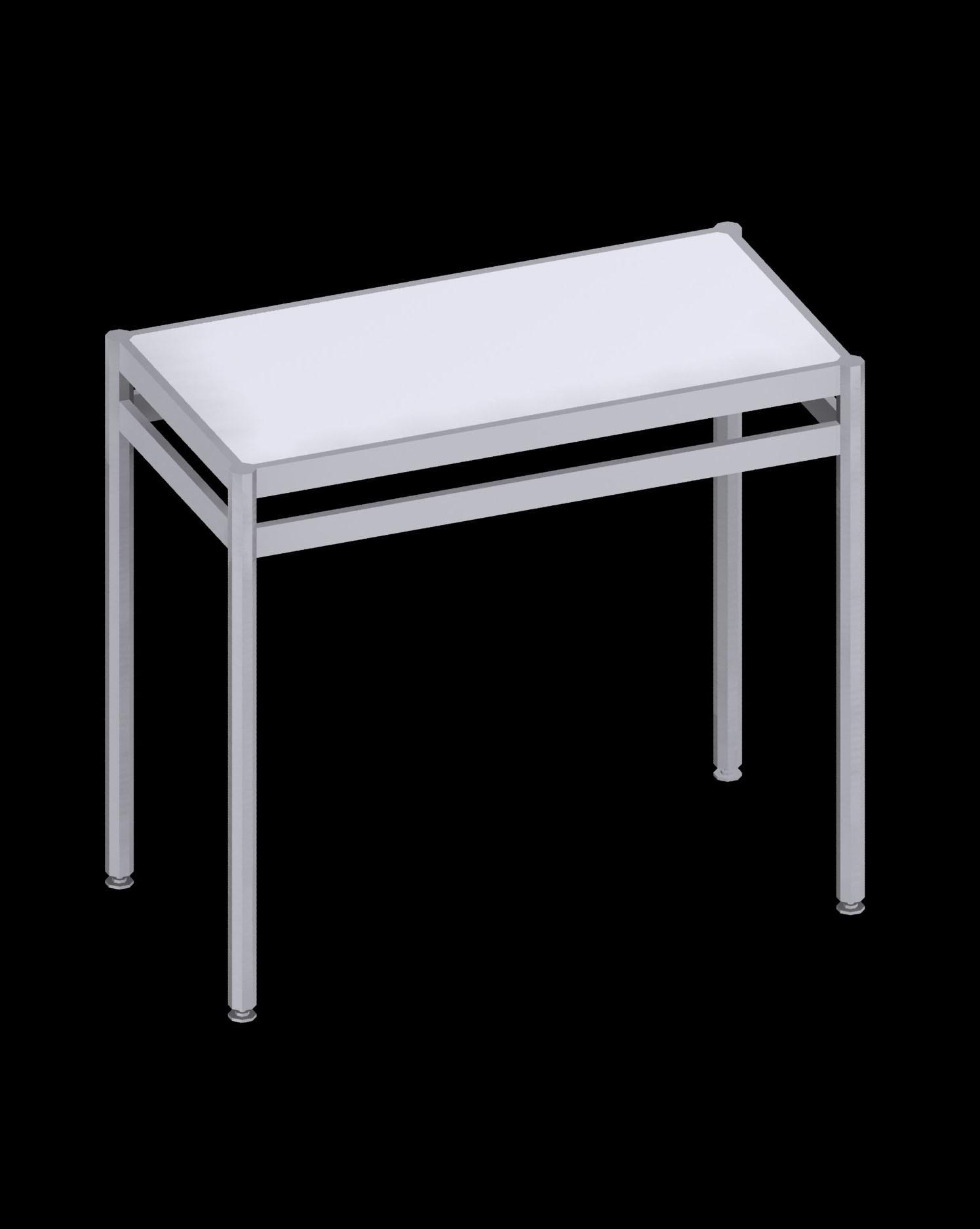 Octanorm short counter - White