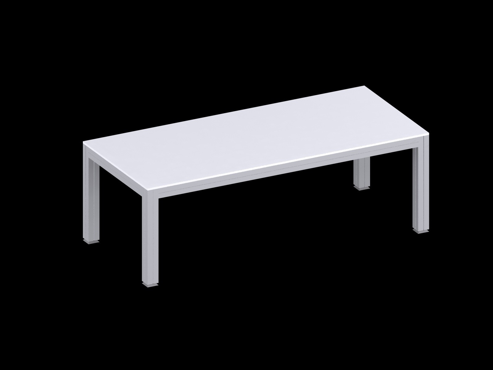Expo Meeting Table / Conference Table - White